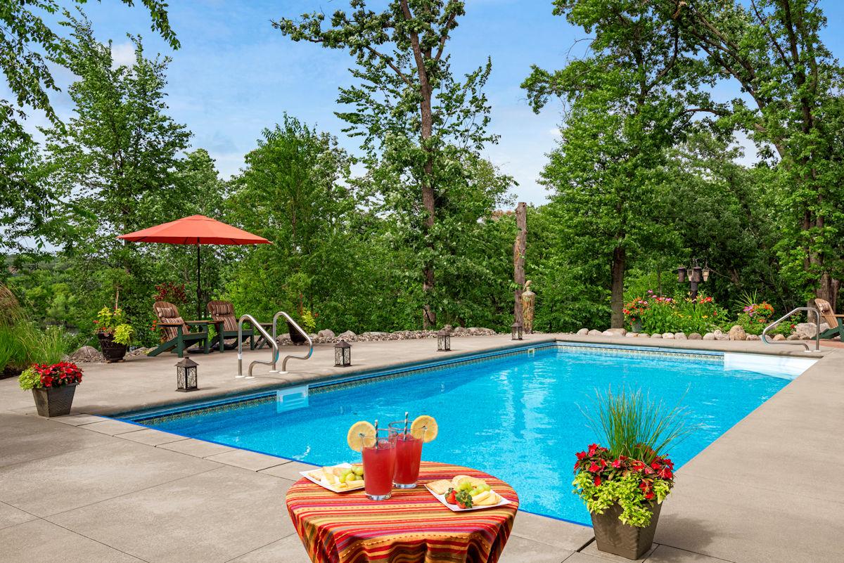 Livit Landscaping Design - Poolside Paradise