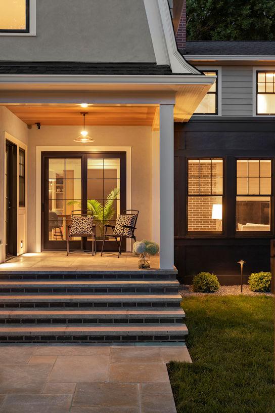 Urban Retreat back porch by Livit Site + Structure